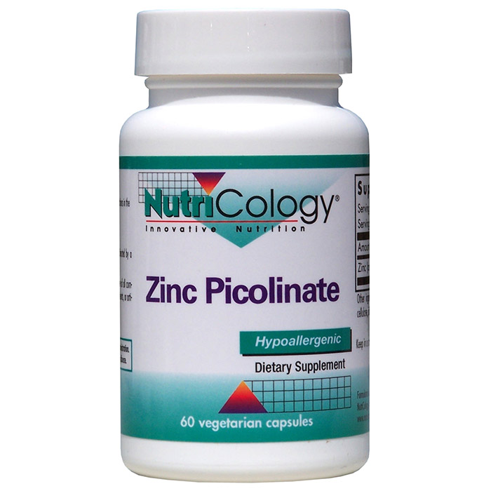 Zinc Picolinate 25mg 60 caps from NutriCology