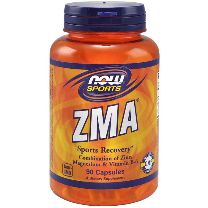 ZMA Anabolic Sports Recovery 90 Capsules, NOW Foods