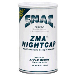 ZMA NightCap, Grow As You Sleep, 750 g, SNAC System (Vitamins Supplements - ZMA)