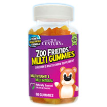 Zoo Friends Multi Gummies for Children, Chewable Multivitamin, 60 Gummies, 21st Century HealthCare