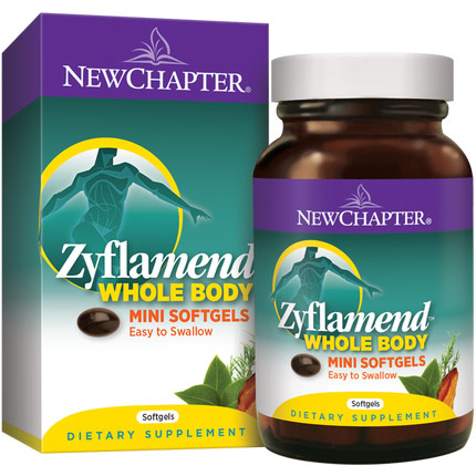 Zyflamend Whole Body Mini Softgels, 180 Softgels, New Chapter