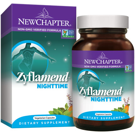 Zyflamend Nighttime, 60 Vegetarian Capsules, New Chapter