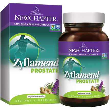 Zyflamend Prostate, 100% Vegetarian, 60 Liquid Vcaps, New Chapter